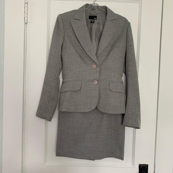 H&M Jackets & Blazers - H&M skirt suit